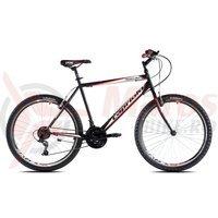 Bicicleta Capriolo Passion Man black-white-red