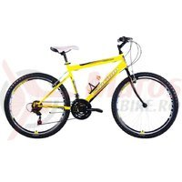 Bicicleta Capriolo Passion Man black-yellow-red