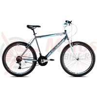 Bicicleta Capriolo Passion Man graphite-white-blue