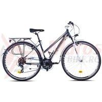 Bicicleta Capriolo Roadster Lady silver-grey