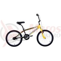 Bicicleta Capriolo Striker BMX yellow 20
