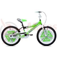 Bicicleta Capriolo Sunny Boy white-green-black 20
