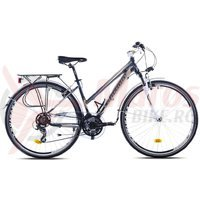 Bicicleta Capriolo Trekking Roadster Lady grey-blue