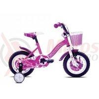 Bicicleta Capriolo Viola Girl roz 12