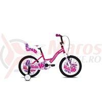 Bicicleta Capriolo Viola Girl roz 16