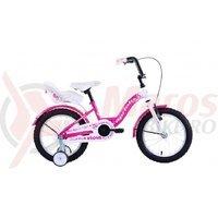 Bicicleta Capriolo Viola Girl white-violet 16