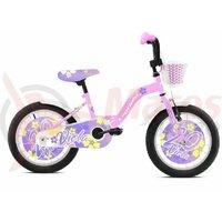"Bicicleta Capriolo Viola Pink-White 20"""