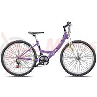Bicicleta copii Cross Alissa 24 inch mov