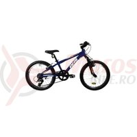 Bicicleta Copii Dhs Terrana 2023 - 20 Inch, Albastru