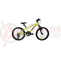 Bicicleta Copii Dhs Terrana 2023 - 20 Inch, Verde