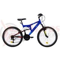 Bicicleta Copii Dhs Terrana 2441 - 24 Inch, Albastru 420 mm