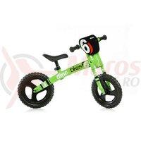Bicicleta copii Dino 15 Verde Fluo