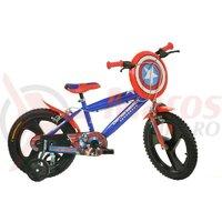 Bicicleta copii Dino 16'' Capitan America