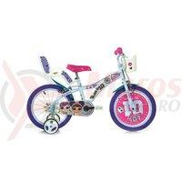 Bicicleta copii Dino 16'' LOL