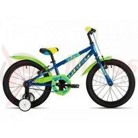 Bicicleta copii Drag 14 Rush - albastru verde