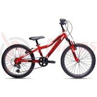 Bicicleta copii Drag Hardy Junior 20 rosu/negru