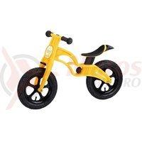 Bicicleta copii Drag Kick galbena 12