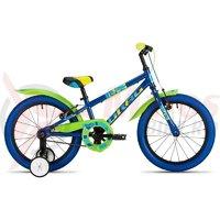 Bicicleta copii Drag Rush 16' albastru/verde 2018