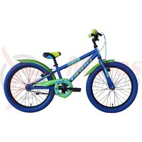 Bicicleta copii Drag Rush 20 blue green 2018
