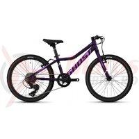 Bicicleta copii Ghost Lanao 20' Base Al W 2021, Mov/Lila