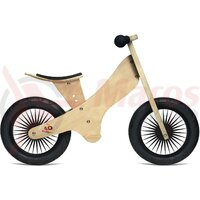 Bicicleta copii Kinderfeets Retro Naturel