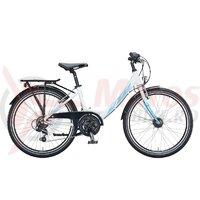 Bicicleta copii KTM WILD CAT 24'',  Alb/albastru