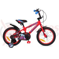 Bicicleta Copii Monster - 16 Inch Rosu