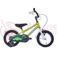 Bicicleta copii Neuzer BMX - 12' Verde/Alb