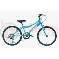 """Bicicleta copii Neuzer Bobby Revo - 20"""" 6v Albastru/Alb-Verde"""