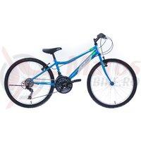 "Bicicleta copii Neuzer Bobby Revo - 24"" 18v Albastru D./Alb-Verde"