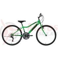 """Bicicleta copii Neuzer Bobby Revo - 24"""" 18v Verde/Negru-Alb"""