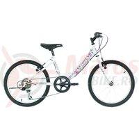 """Bicicleta copii Neuzer Cindy Revo - 20"""" 6v Alb/Violet-Roz"""