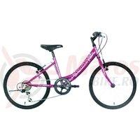"""Bicicleta copii Neuzer Cindy Revo - 20"""" 6v Mov/Alb-Roz"""