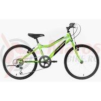 "Bicicleta copii Neuzer Cindy Revo - 20"" 6v Verde Neon/Negru-Alb"