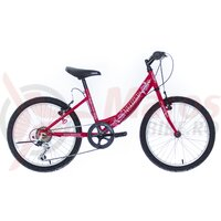 "Bicicleta copii Neuzer Cindy Revo - 20"" 6v Zmeura/Alb"
