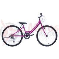 Bicicleta Copii NEUZER CINDY REVO 24'' - 6V.- Mov/Alb