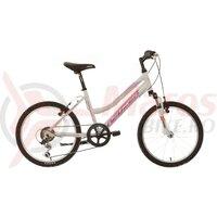 "Bicicleta copii Neuzer Mistral - 20"" Alb/Pink-Mov"