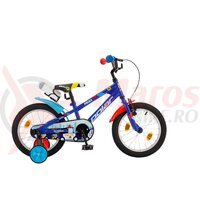 Bicicleta Copii Polar Police - 14 Inch Albastru