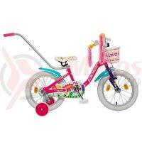 Bicicleta Copii Polar Summer - 14 Inch Roz/Albastru
