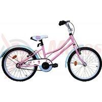 Bicicleta copii Robike Alice 20 roz/albastru