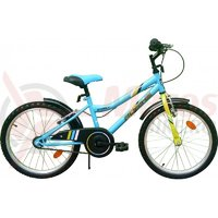 Bicicleta copii Robike Ronny 20 albastru/verde
