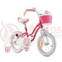 Bicicleta copii Royal Baby Star Girl 16' Pink