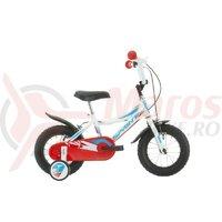 Bicicleta copii Sprint Robix 12 x 8 alb