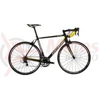 Bicicleta Corratec CCT Team Ultegra carbon mat/galben/alb