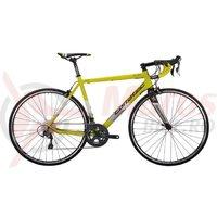 Bicicleta Corratec Dolomiti Elite galben neon/alb/negru
