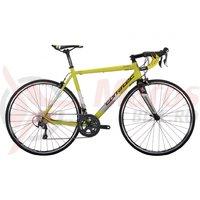 Bicicleta Corratec Dolomiti Expert galben neon/alb/negru