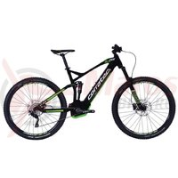 Bicicleta CORRATEC E-Power RS 150 Elite 29 negru/alb/verde