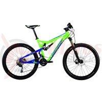 Bicicleta Corratec Inside Link 120 Z verde/albastru