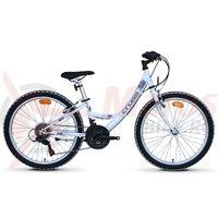 Bicicleta Cross Alissa 24' junior alba