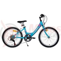 Bicicleta Cross Alissa 24' junior turcoaz